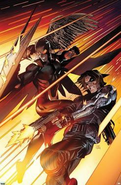 Marvel Comics Falcon and Winter Soldier - Team-Up