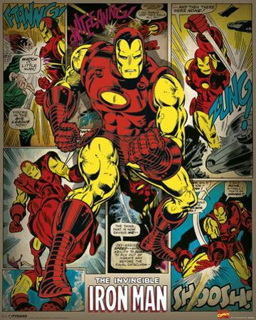 Marvel Comics (Iron Man Retro)