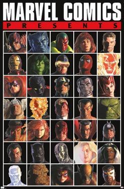Marvel Comics - Presents Grid