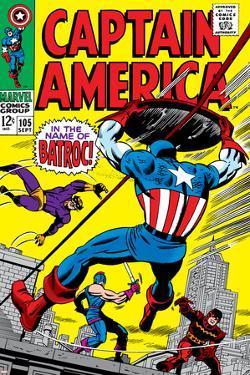 Marvel Comics Retro: Captain America Comic Book Cover No.105, Batroc
