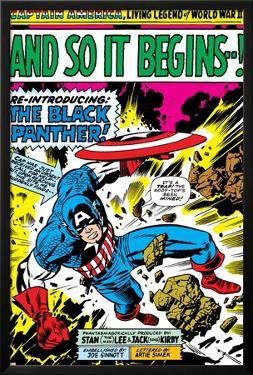 Marvel Comics Retro: Captain America Comic Panel, And So It Begins..!