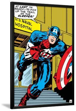 Marvel Comics Retro: Captain America Comic Panel, U.S. naval Hospital