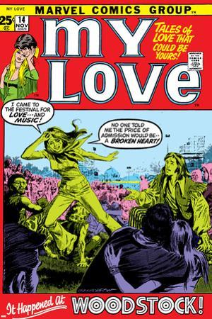 Marvel Comics Retro: My Love Comic Book Cover No.14, Woodstock