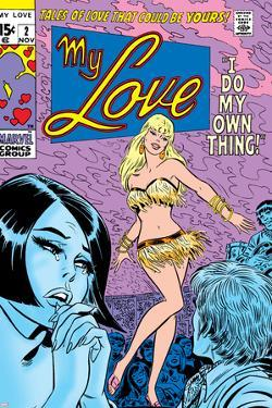 Marvel Comics Retro: My Love Comic Book Cover No.2, Crying and Dancing