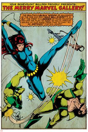 Marvel Comics Retro Style Guide: Black Widow