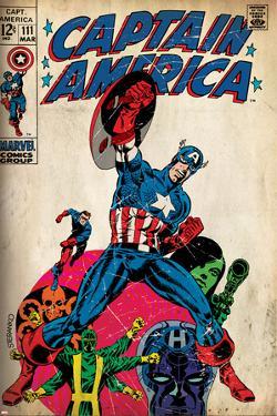 Marvel Comics Retro Style Guide: Captain America, Hydra, Bucky