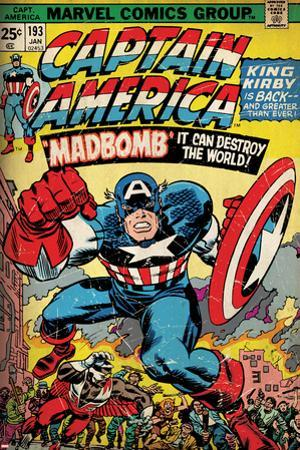 Marvel Comics Retro Style Guide: Captain America