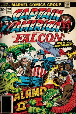 Marvel Comics Retro Style Guide: Falcon, Captain America