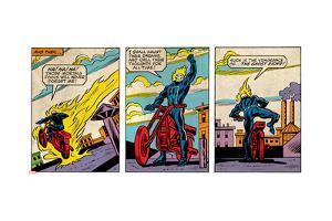 Marvel Comics Retro Style Guide: Ghost Rider