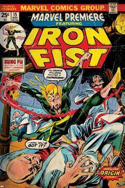Marvel Comics Retro Style Guide: Iron Fist