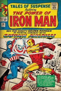 Marvel Comics Retro Style Guide: Iron Man, Captain America