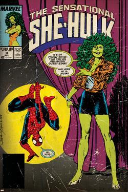 Marvel Comics Retro Style Guide: She-Hulk, Spider-Man