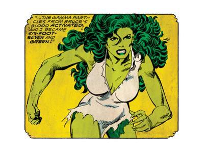 Marvel Comics Retro Style Guide: She-Hulk