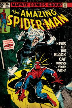 Marvel Comics Retro Style Guide: Spider-Man, Black Cat