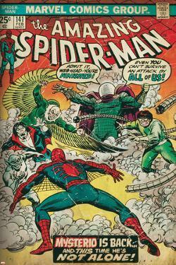 Marvel Comics Retro Style Guide: Spider-Man, Mysterio, Doctor Octopus, Falcon