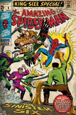 Marvel Comics Retro Style Guide: Spider-Man, Mysterio, Sandman