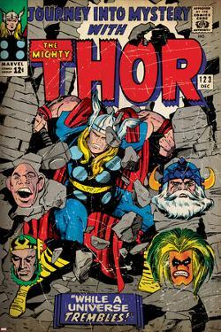 Marvel Comics Retro Style Guide: Thor, Absorbing Man, Odin, Loki