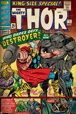 Marvel Comics Retro Style Guide: Thor, Destroyer