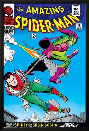 Marvel Comics Retro: The Amazing Spider-Man Comic Book Cover No.39, Green Goblin