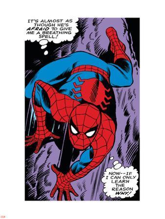 Marvel Comics Retro: The Amazing Spider-Man Comic Panel, Crawling