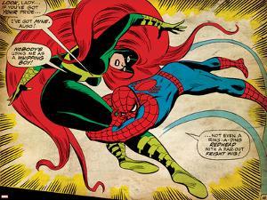Marvel Comics Retro: The Amazing Spider-Man Comic Panel, Medusa (aged)
