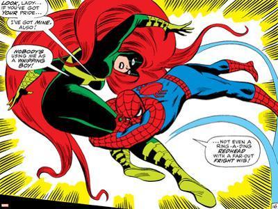 Marvel Comics Retro: The Amazing Spider-Man Comic Panel, Medusa