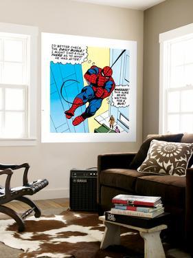Marvel Comics Retro: The Amazing Spider-Man Comic Panel
