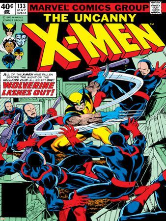 Marvel Comics Retro: The X-Men Comic Book Cover No.133, Wolverine Lashes Out