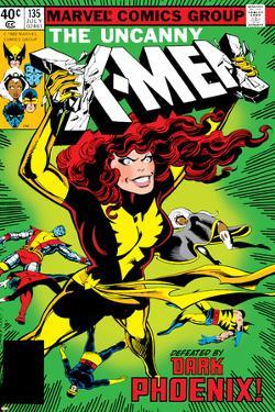 Marvel Comics Retro: The X-Men Comic Book Cover No.135, Phoenix