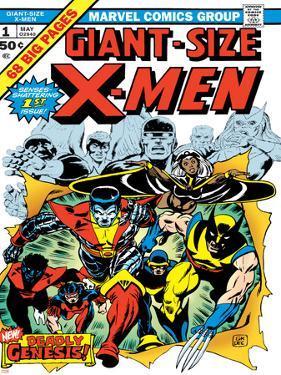 Marvel Comics Retro: The X-Men Comic Book Cover No.1