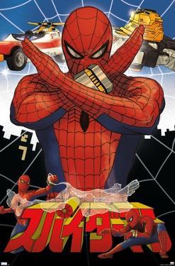 Marvel Comics TV - Japanese Spider-Man - Collage