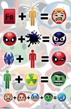 Marvel- Emoji Arithmetic