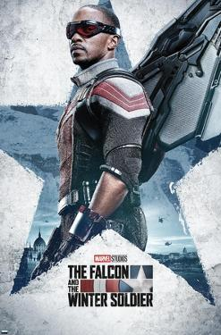 Marvel Falcon and Winter Soldier - Falcon  One Sheet