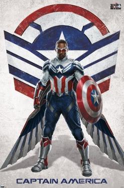 Marvel Falcon and Winter Soldier - Falcon Portrait