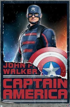 Marvel Falcon and Winter Soldier - John F. Walker