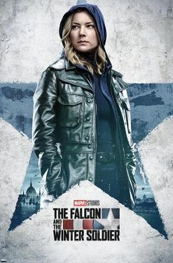 Marvel Falcon and Winter Soldier - Sharon Carter One Sheet