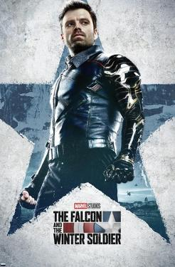 Marvel Falcon and Winter Soldier - Winter Soldier One Sheet