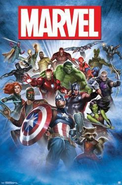 Marvel- Group Shot