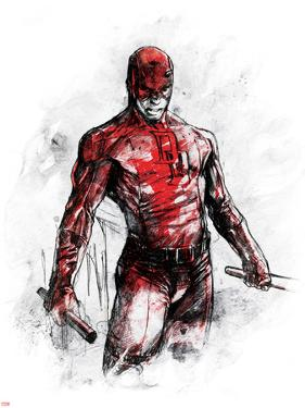 Marvel Knights - Daredevil Art Design