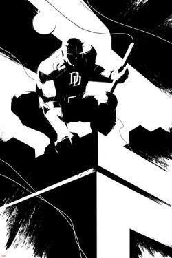 Marvel Knights - Daredevil Character Art