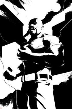 Marvel Knights - Luke Cage Character Art