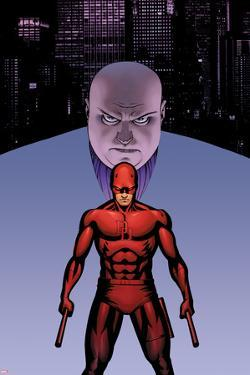 Marvel Knights Presents Cover, Featuring: Kingpin, Daredevil