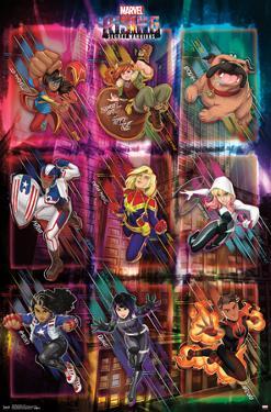 Marvel Rising - Grid