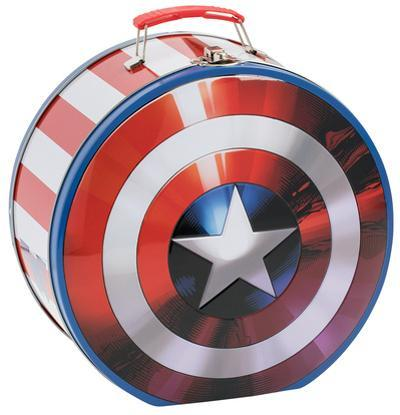 Marvel's Captain America - Shield Shaped Tin Lunch Box