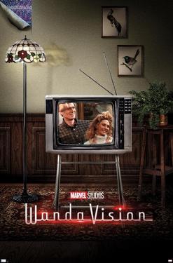 Marvel WandaVision - 80's One Sheet