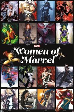 Marvel - Women of Marvel - Grid