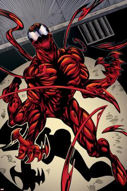Marvels Spider-Man Panel Featuring Carnage