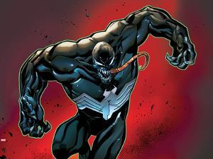 Marvels Spider-Man Panel Featuring Venom