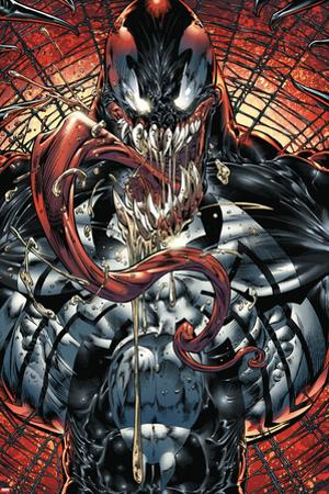 Marvels Spider-Man Panel Featuring Venom
