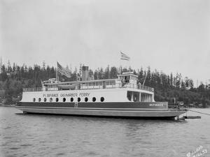 "Gig Harbor Ferry ""Defiance"" (April 1, 1927) by Marvin Boland"